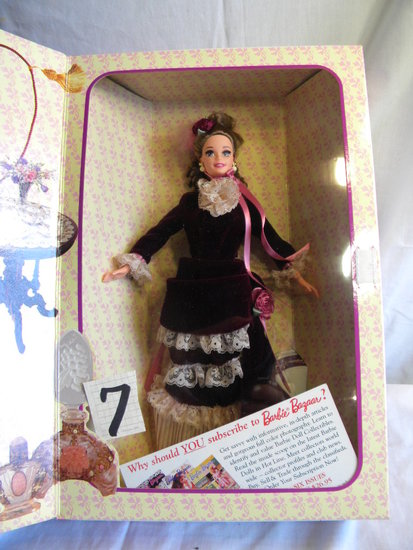 "Barbie= Victorian Lady, Great Eras Collections, by Mattel #15499, 12""Hal Bo"