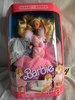 """Barbie=Sweet Roses w/Gown Changes; by Mattel, # 763, 11""""H, With Original Bo"""