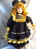 """Camelot Handcrafted Doll, :Celeste"""", W/Stand, 24""""H."""