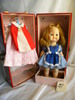 """Vogue Doll w/Doll clothes and Case, 11""""H, (open/close eyes)."""