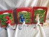"""Keepsake Ball Park Series Holiday Ornaments= """"Ken Griffey Jr.""""; Sammy Sosa"""""""
