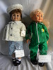"""Battat Doll-1998, Vinyl, Open/close eyes, 18""""H; Doll-Made in China, open/cl"""