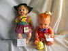 """Gerber """"Baby Doll with Duck, 12""""H; Magic Baby, (no Accessories), 13""""H."""