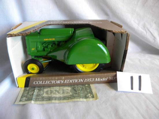 "John Deere, Model 60, Orchard Tractor, ""collectors Edition, 1953"", #5679, U"