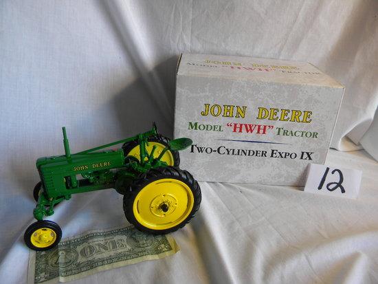 "John Deere, Model Hwh, ""two Cylinder Expo Ix, 1999, (china) Ertl, #16006a,"