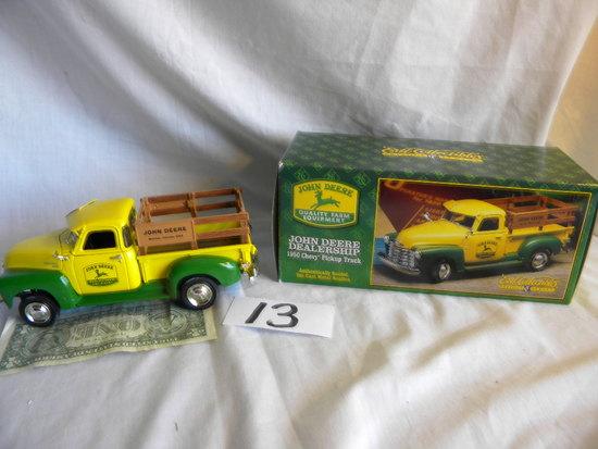 "Chevrolet, 1950, ""john Deere Dealership Truck"", 1/25 Scale, Die Cast, Side"