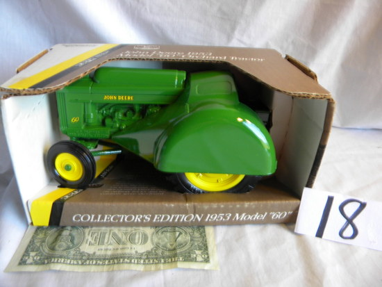 John Deere Model 60 Orchard Tractor, Usa Ertl, 1/16 Scale, #5679, Blue Prin