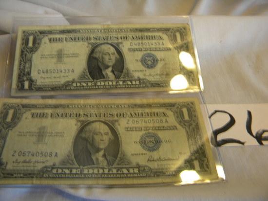 Pair Of Dollars,= 2003, J00502126a ; 2003a, J00502126a Both Kansas City, M