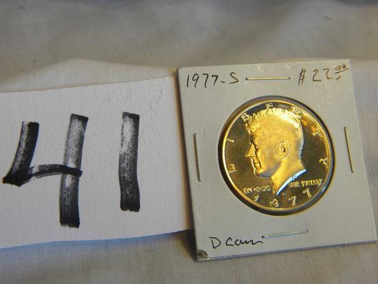 Half Dollar, 1977s, Proof
