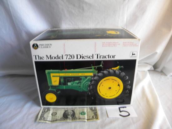 John Deere 720 Diesel, Ertl Collection, Precision Classic, Die Cast, #5832,