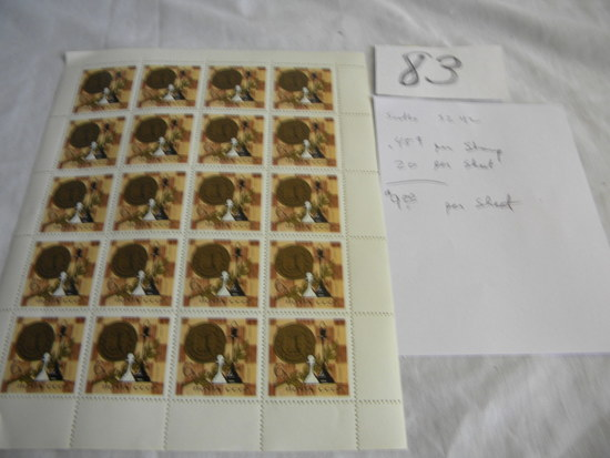 Russian Stamps, 3242, 20 Stamps, Moyta Cccp, 6k