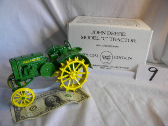 """John Deere, 1928 Model C, """"two Cylinder Club Grand Opening May 1993"""", #5700"""