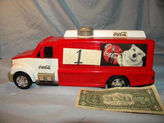 Coca Cola=delivery Truck