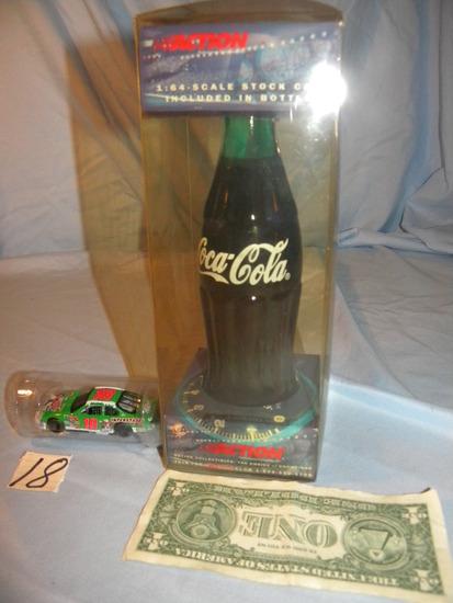 "Coca Cola= ""magic"" Stock Car, 1:64 Scale."