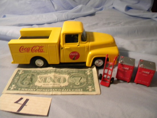 Coca Cola=1956 Dispensing Delivery Truck;