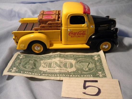 Coca Cola= 1947 Dodge Ertl Pick-up.