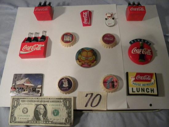 Coca Cola= (14) Refrigerator Magnets