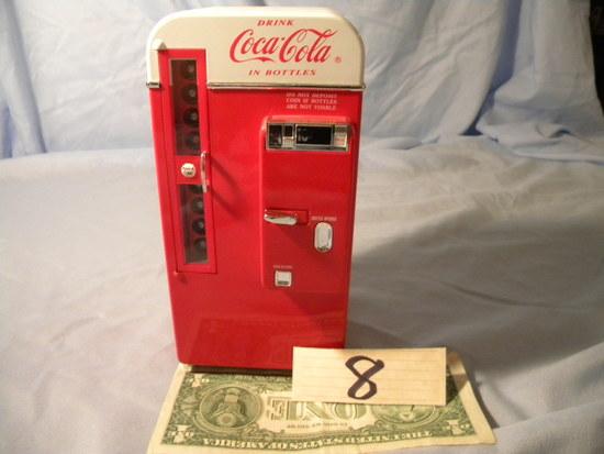 Coca Cola= Front Load Dispenser.