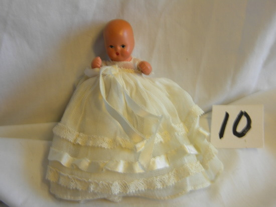 "Story Book Doll, ""little Miss"", #155, Confirmation Dress, 4 1/2 In: Long,,"