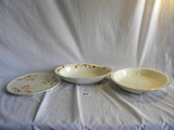 Halls Superior Kitchenware= Rectangular Serving Bowl, 2