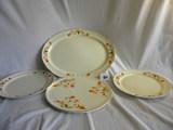 Halls Superior Kitchenwares= Cake Plate, 10