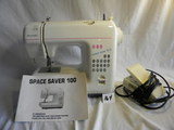 Dress Maker Porable 100, W/o Case; Includes Manual And Electrical Controls.