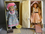 Pair= Victorian Collection, Fixed Eye, Box,