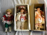 Three=dynash Doll Collection, Fixed Eyes, 15