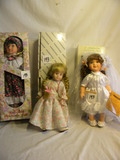 Three= (no Marked) Doll, Fixed Eye, Box, 12