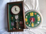 Quartz Wall Clock, Golf Items, 18