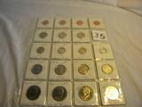 Mint Sets=pair-pennies 1990 P&d, 1995 P&d; Nickels 1990 P&d, 1995 P&d; Dime