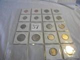 Pairs 2002 Msc,p&d= Pennies, Dimes, Nickels, Half Dollars,; Quarters=