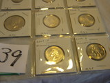 Mint Pairs, 2004 P &d=pennies, Nickels, Dimes, Half Dollars; Quarters P&d 2