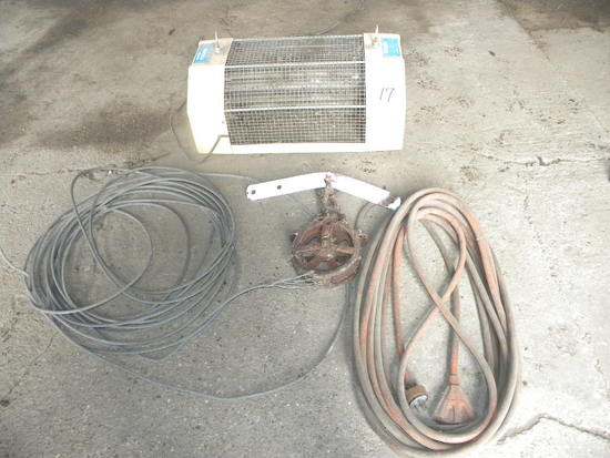 Electric Fly Control; Electric Cord; Hudson Cable Roller Assembly; 20 Ft. 5