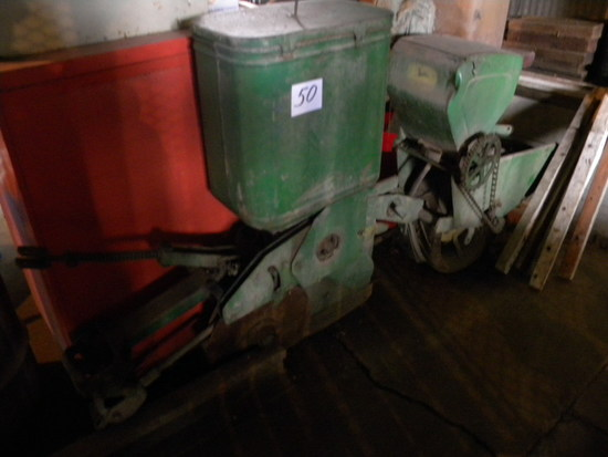 John Deere One Row Plate Less Planter Assembly