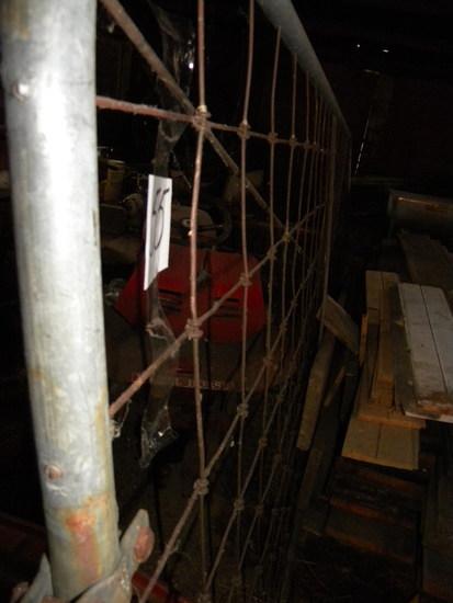 Gates= Pair Of Hog Panels; 1 Garden Gate. 18'l; Pair Of 18' Farm Gates.