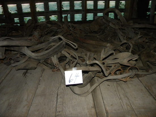 Two Sets Of Horse Harness.