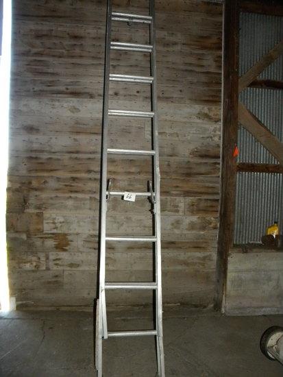 20 Ft. Aluminum Extension Ladders.