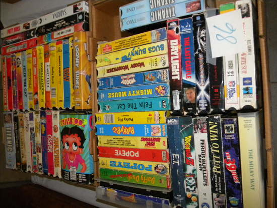 56 Collectors Vhs Tapes.