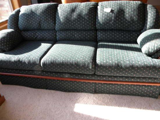 Simons Upholster (green) Sofa, Green.