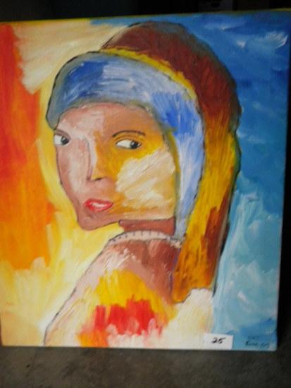 """let Go"""", 24 X 27"""", 2005.Acrylic on canvas"""
