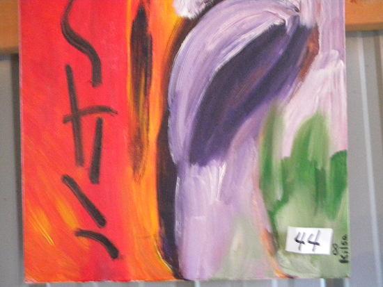 """Still"", 18 X 18"". Acrylic on canvas"