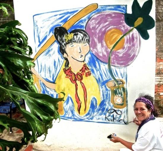 Artist Kilsa Baganha Dremsa