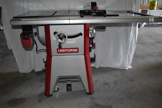"Craftsman 10"" Contractors Table Saw, Model 351-218330"