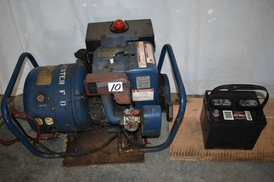 Electrical Generator, 4000 Watt, Tecumseh, Electric Start.