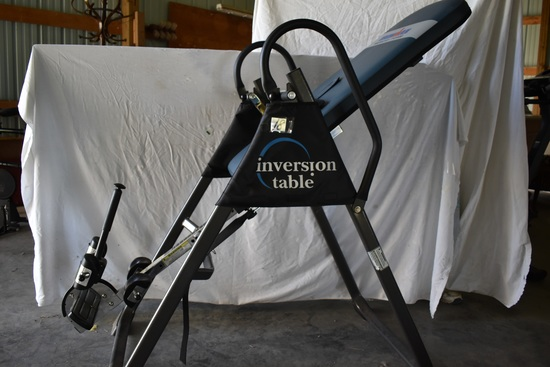 Inversion Table, Max Weight 350#, Adjustable.
