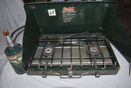 Coleman 2 Burner Propane Cook Range.
