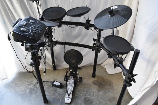 Electric Simons Electronic Drum Set, Sd7pk Wo/speakers