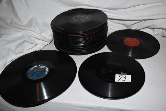 Asst., Of Old Talking Machine Records: Columbia, Mercury Etc. (50 App.