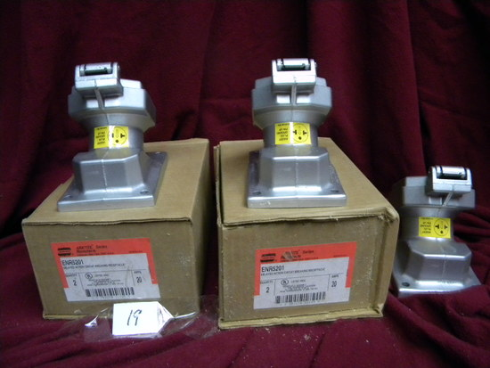 2 Delayed Action Breaking Receptacle, Enr5291, 20 A, Elecrical Construction Equ
